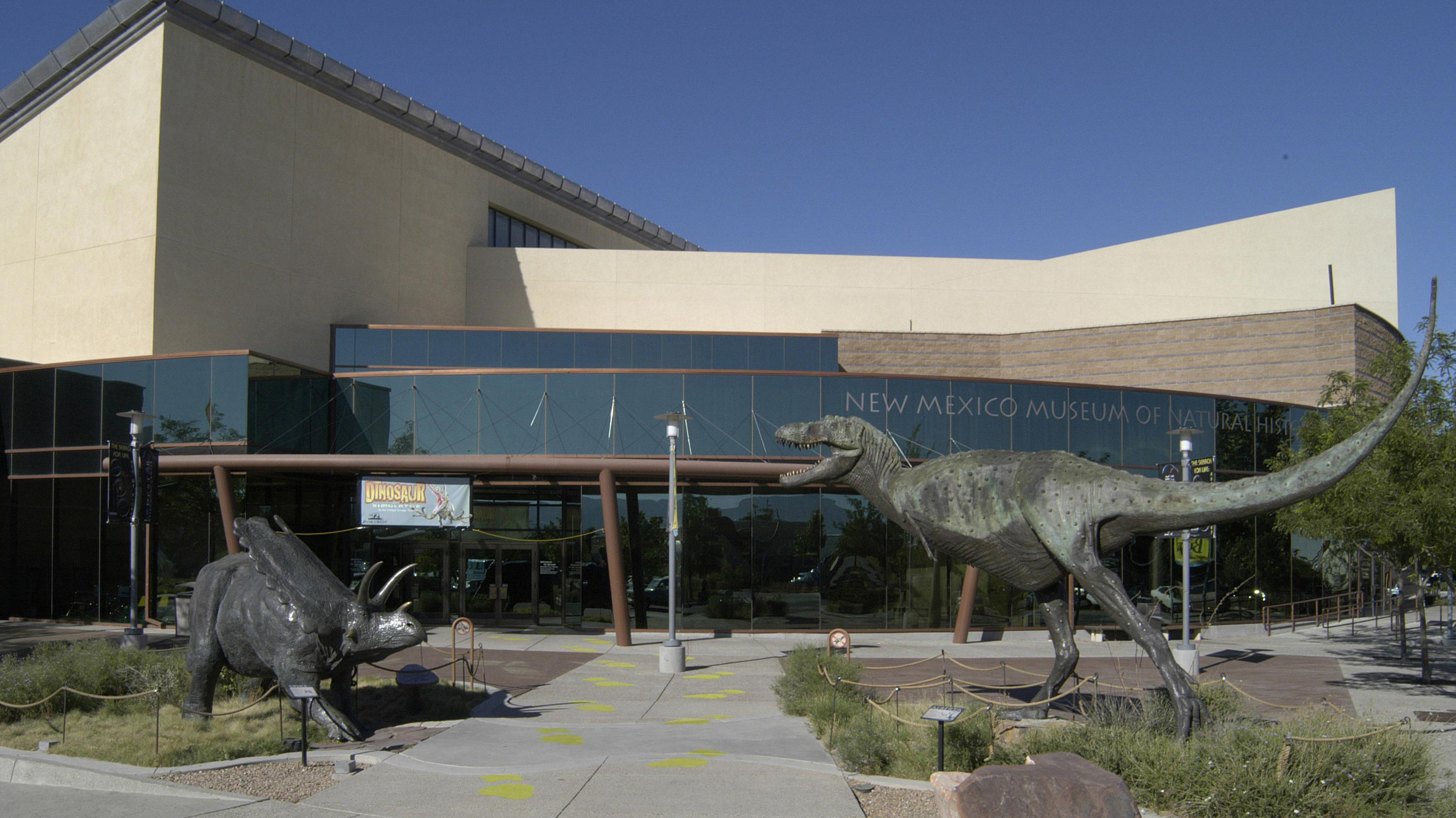 New Mexico Museum Of Natural History And Science In Albuquerque