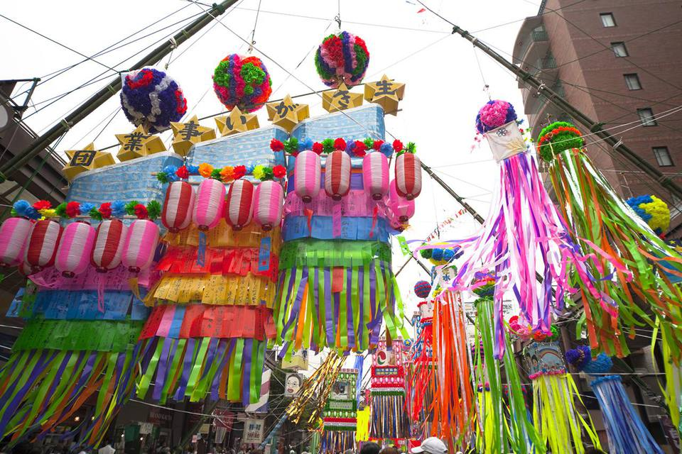 Ornaments for Tanabata festival