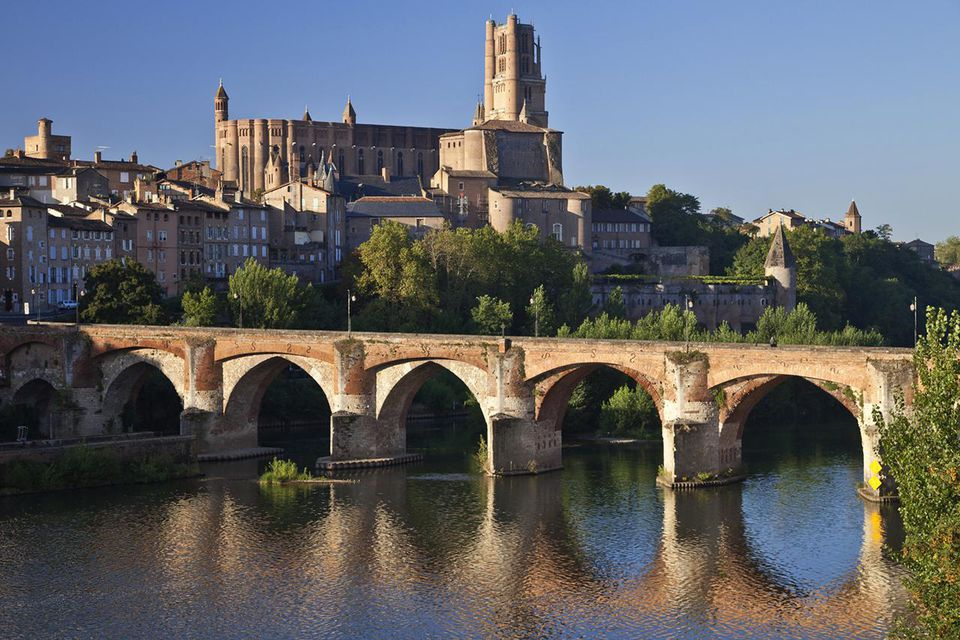 France, Tarn, Albi, the episcopal city, listed as World Heritage by UNESCO