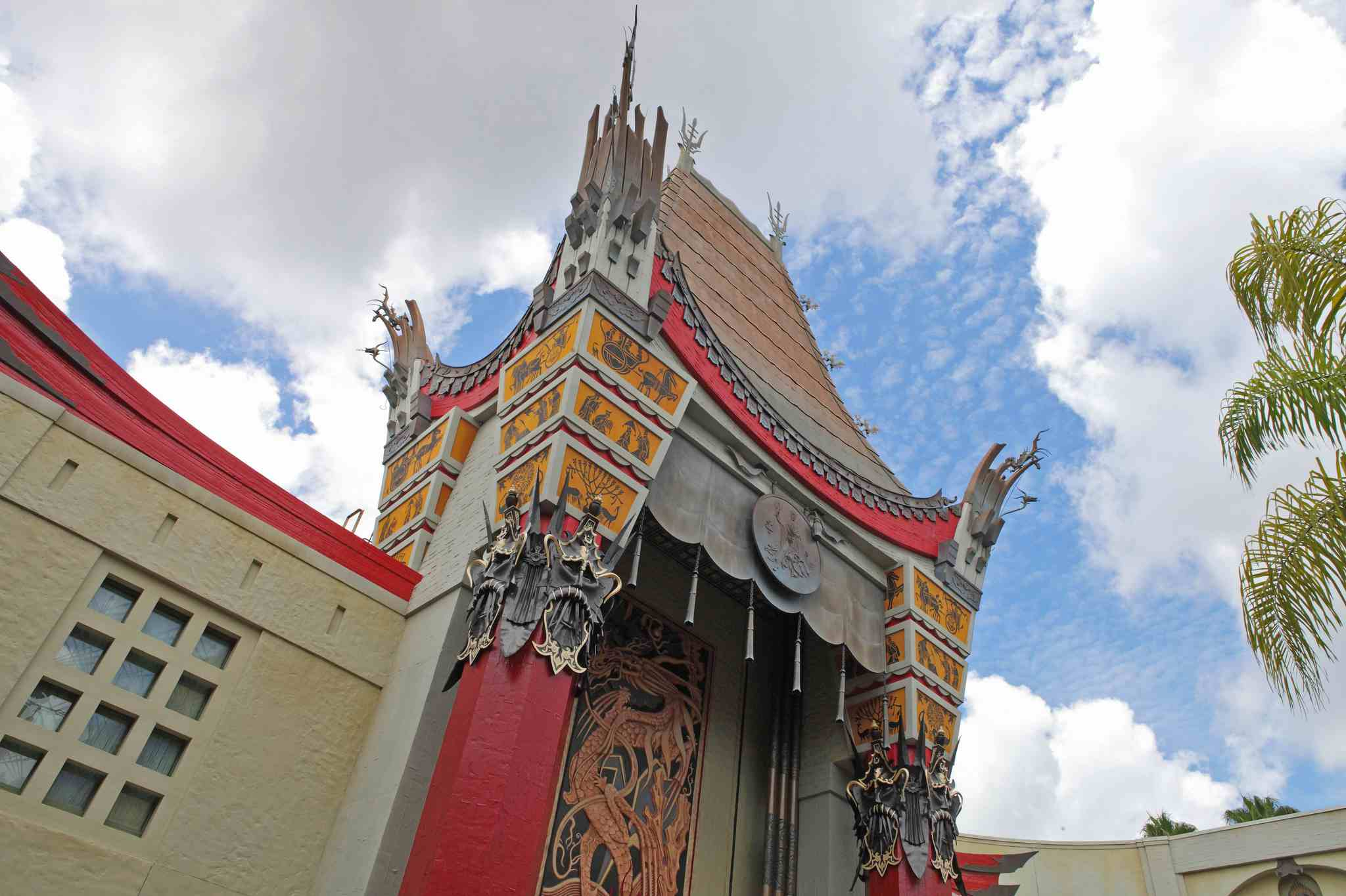 The Chinese Theatre, home of the Great Movie Ride, at Disney's Hollywood Studios.