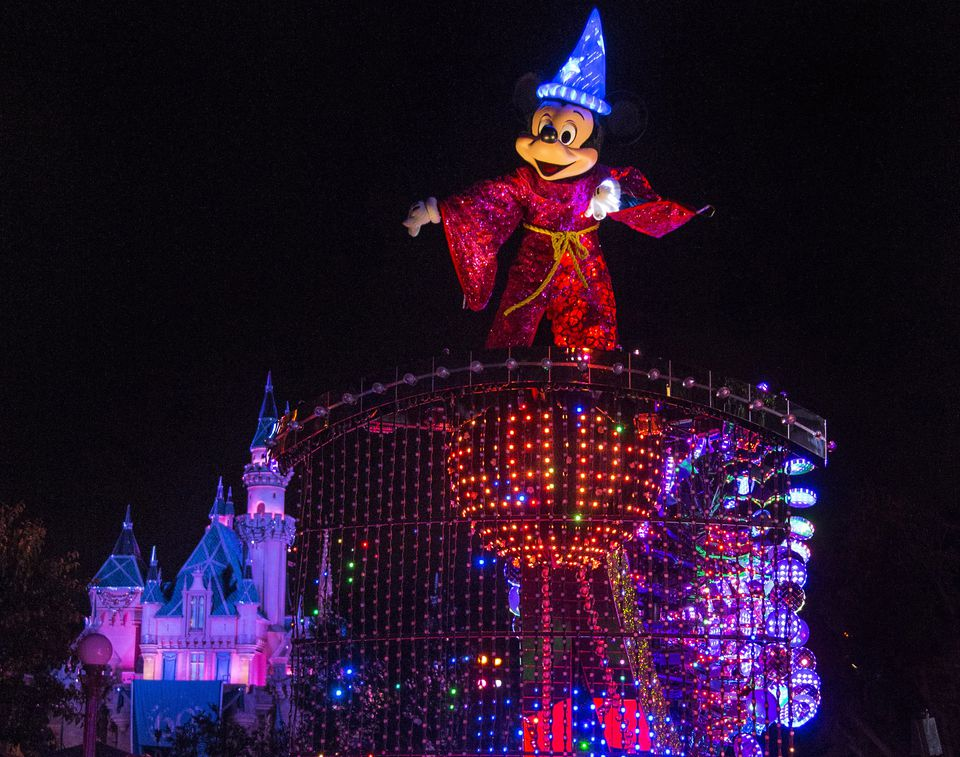 Sorcerer Mickey Mouse at Disneyland