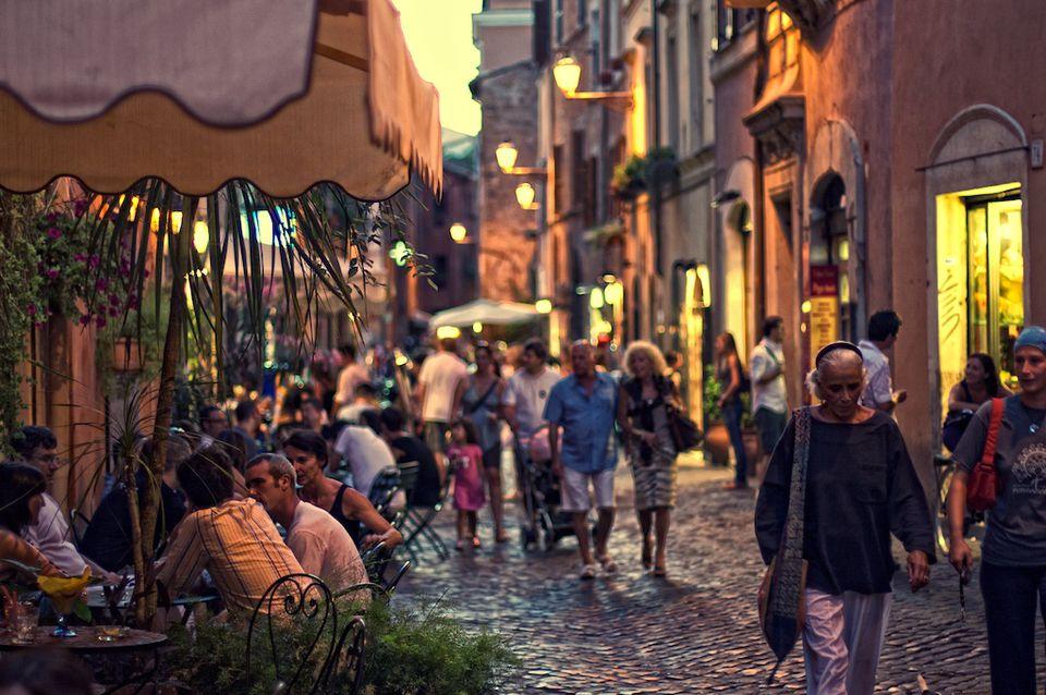 Calle en Trastevere