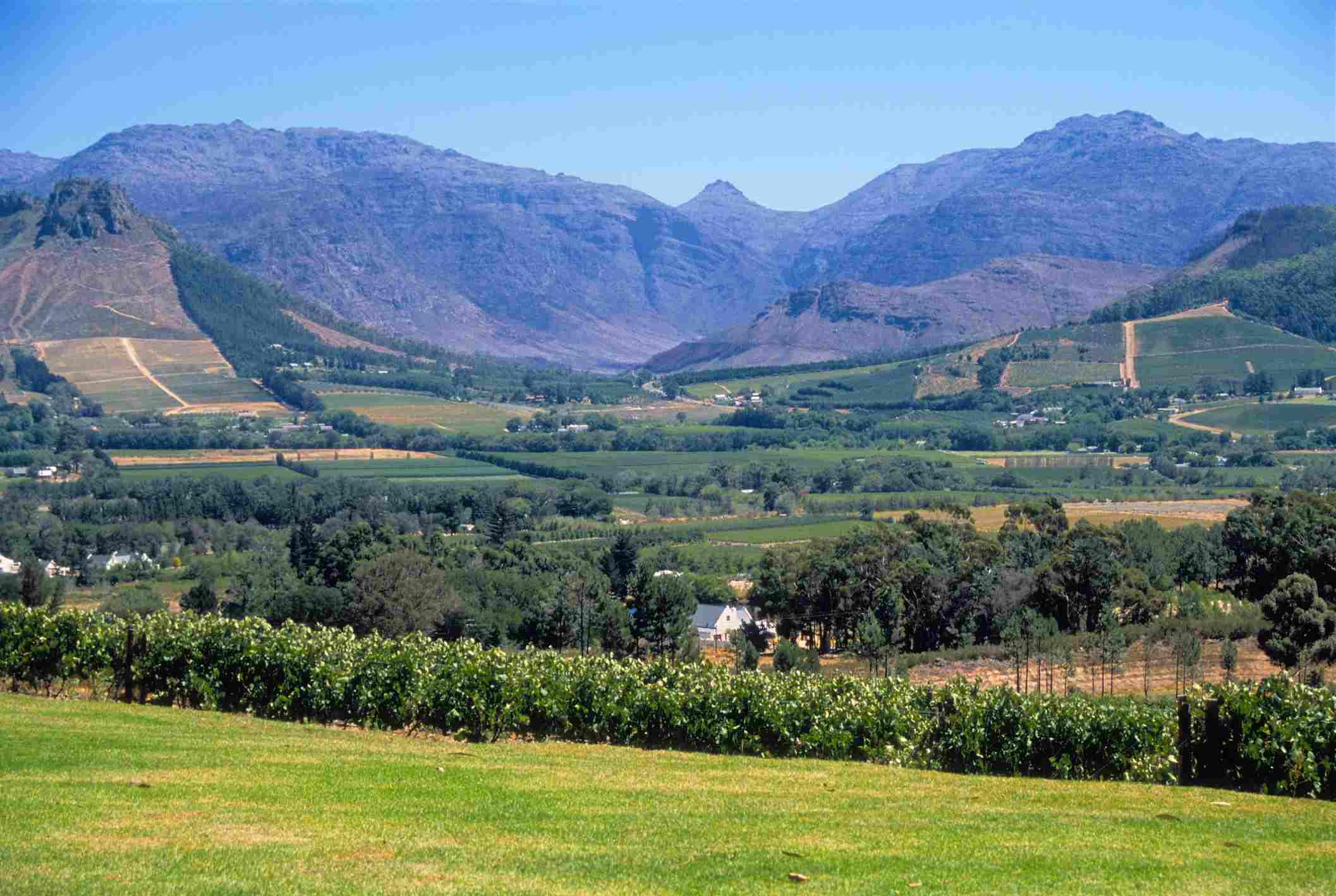 La Petite Ferme of Franschhoek Wine Valley, South Africa
