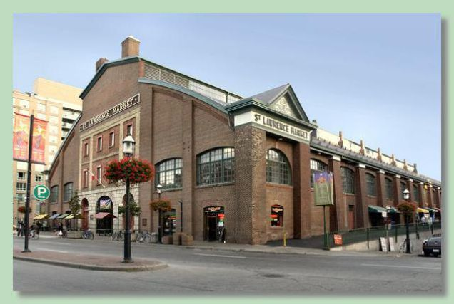 Exterior of St Lawrence Market