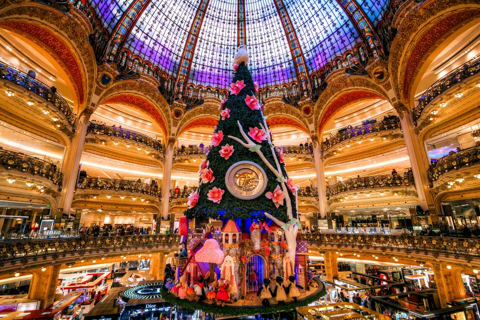 christmas tree galeries lafayette - France Christmas