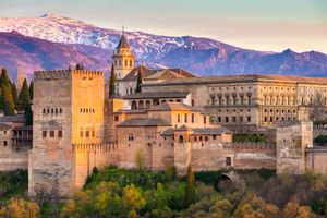 The Alhambra Palace, Granada, Spain
