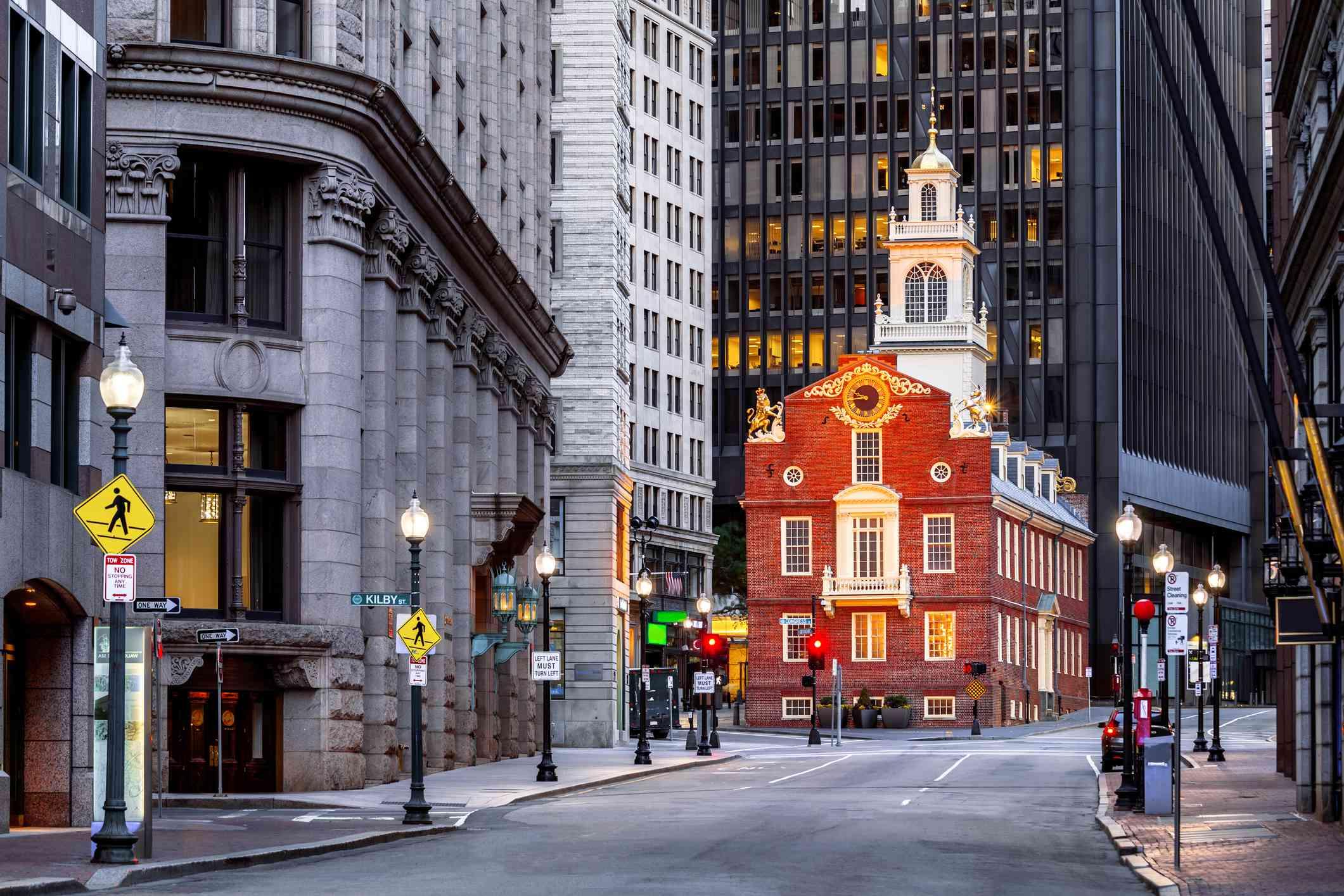 Old State House, Boston, Massachusetts, America