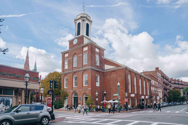 Charles Street Meeting House in Boston