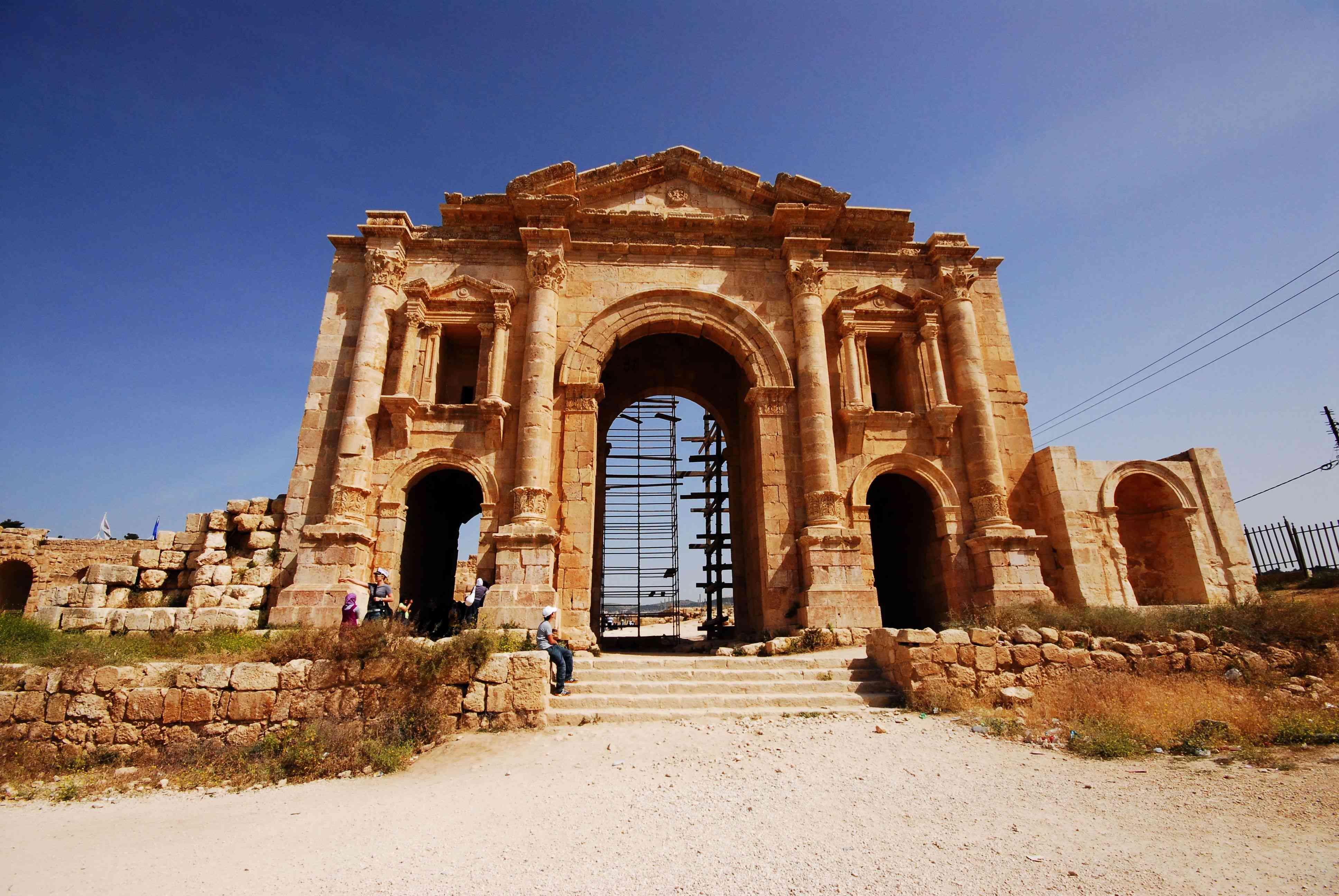 ancient ruins of Jerash