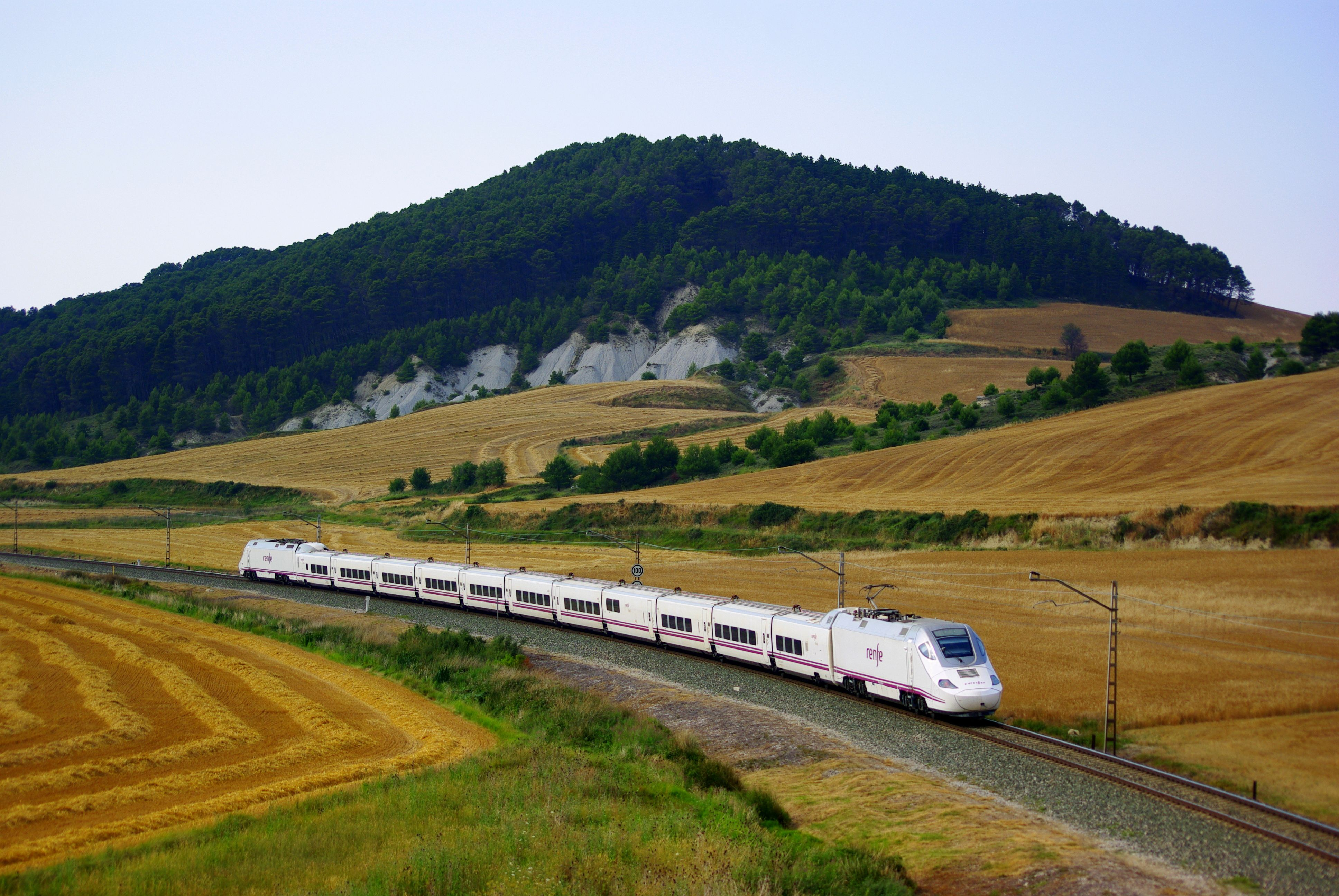 AVE high-speed train in Spain