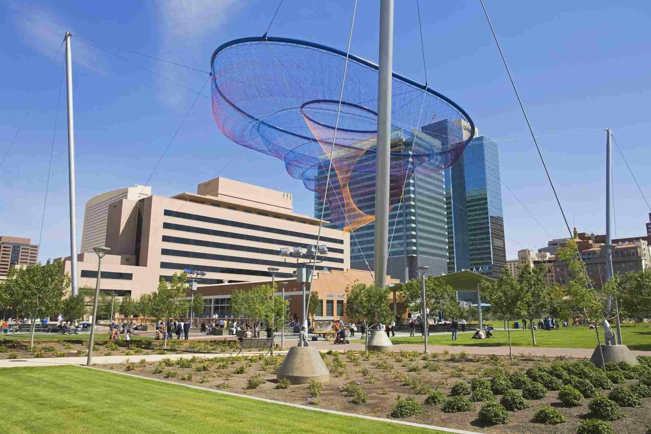 Civic Space Park, Phoenix, Arizona,