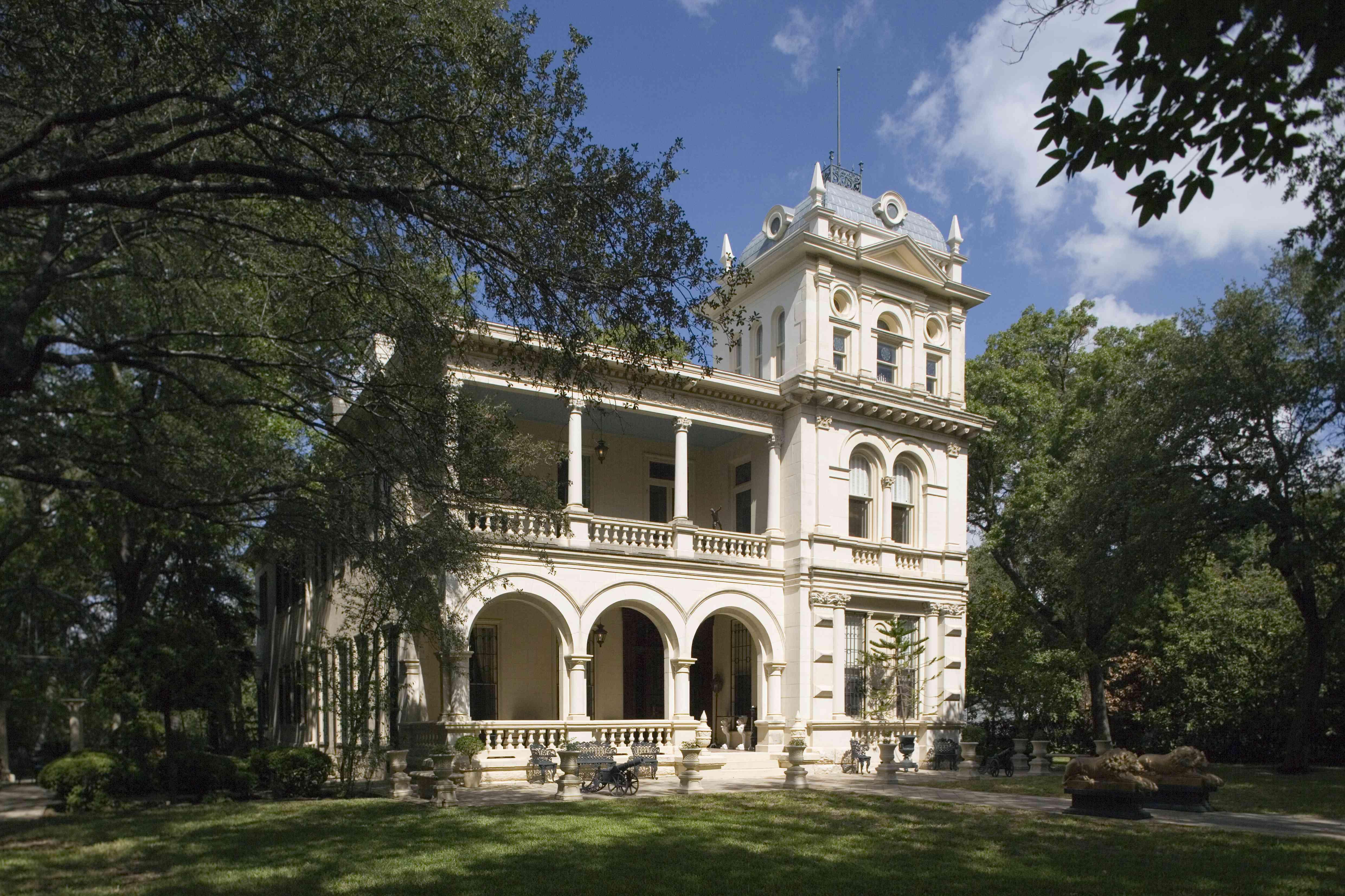 Villa Finale historic mansion, San Antonio, Texas