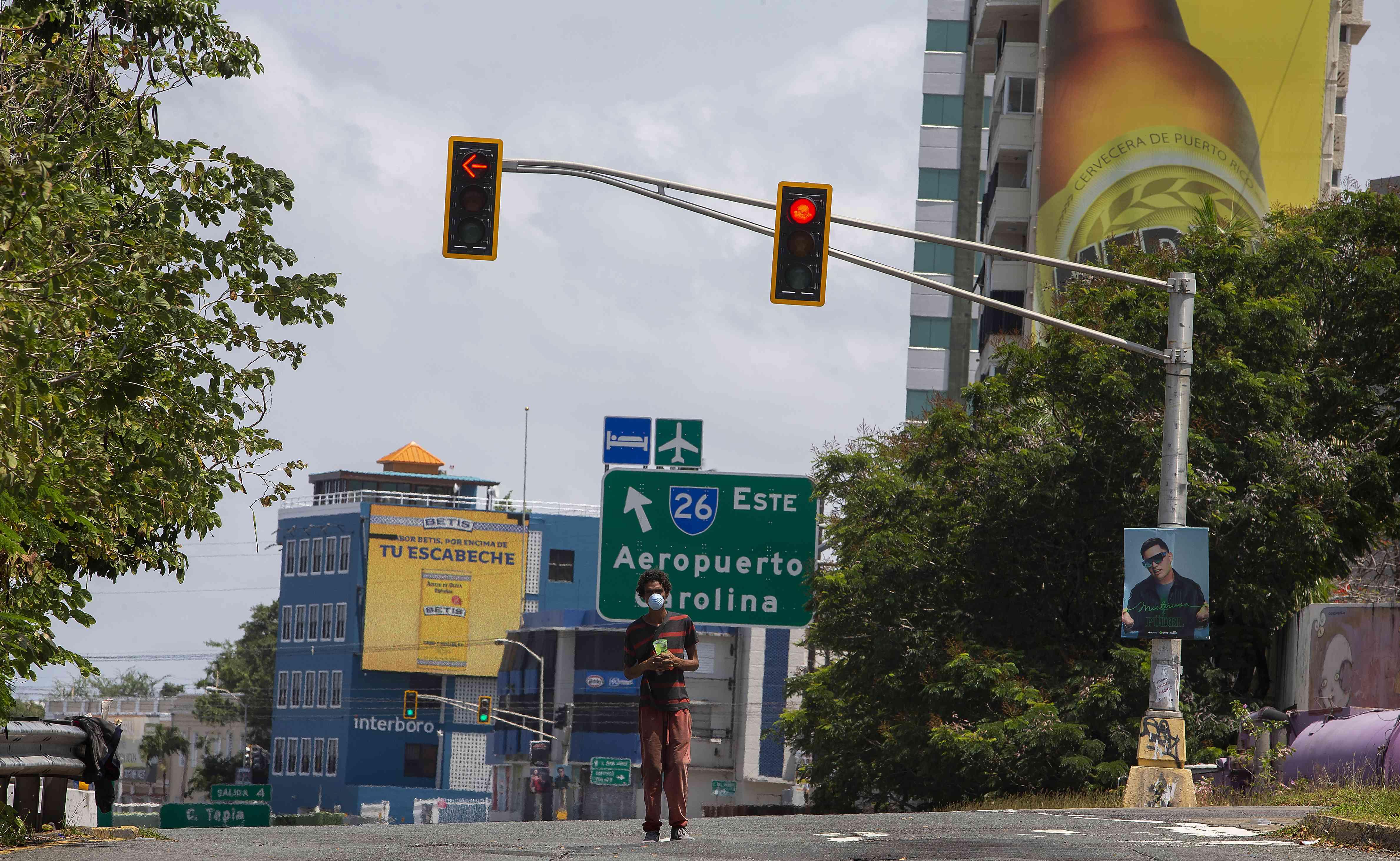 Puerto Rico Governor Wanda Vázquez imposed curfew to contain the coronavirus spread