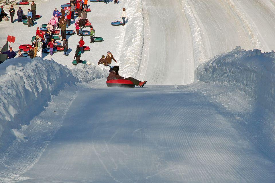 Snow Tubing at Ski Butternut