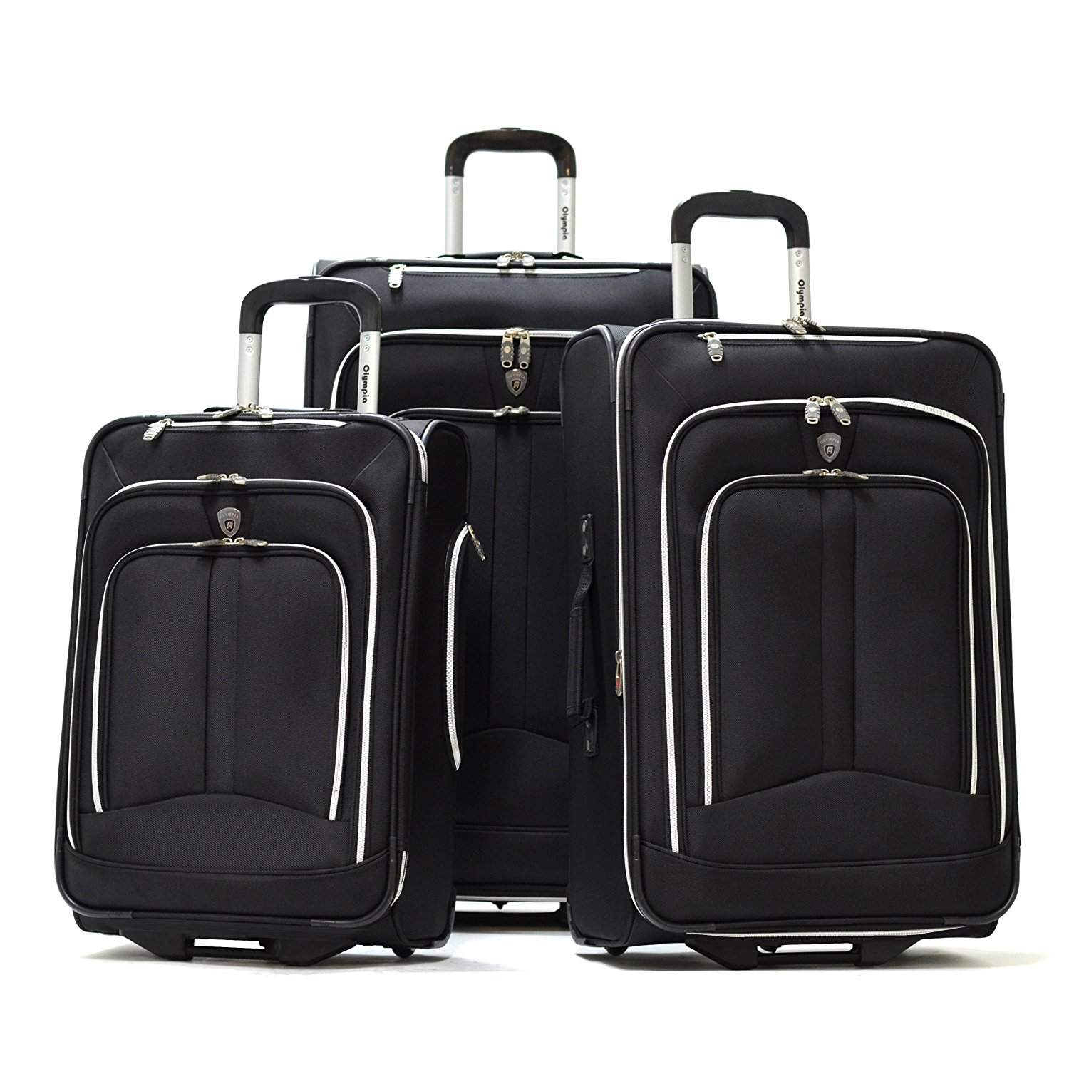 Best Overall  Olympia Hamburg Three-Piece Luggage Set 06bef94bbbf89