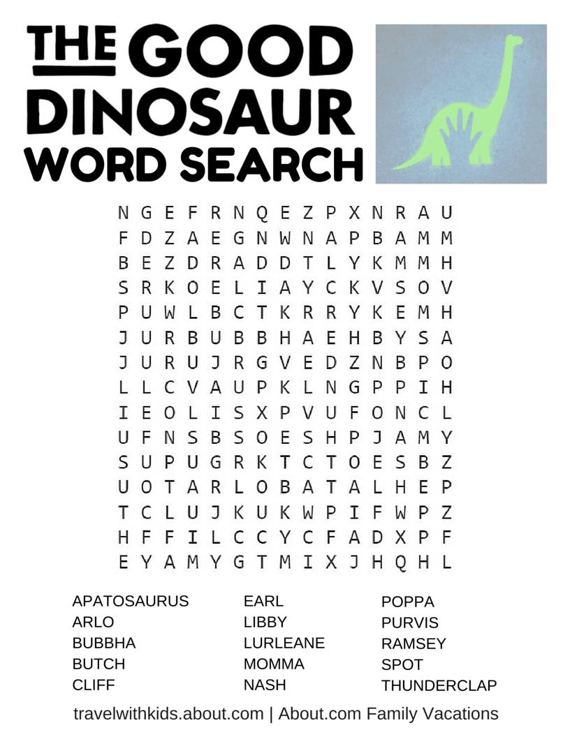 14 free disney printable word searches mazes games