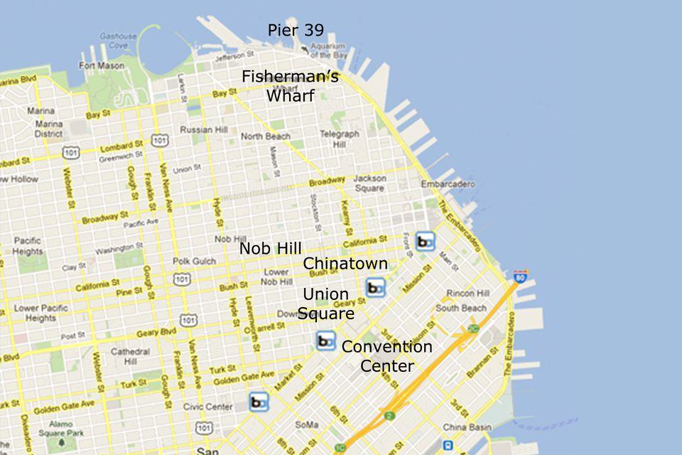 San Francisco s Popular Tourist Areas