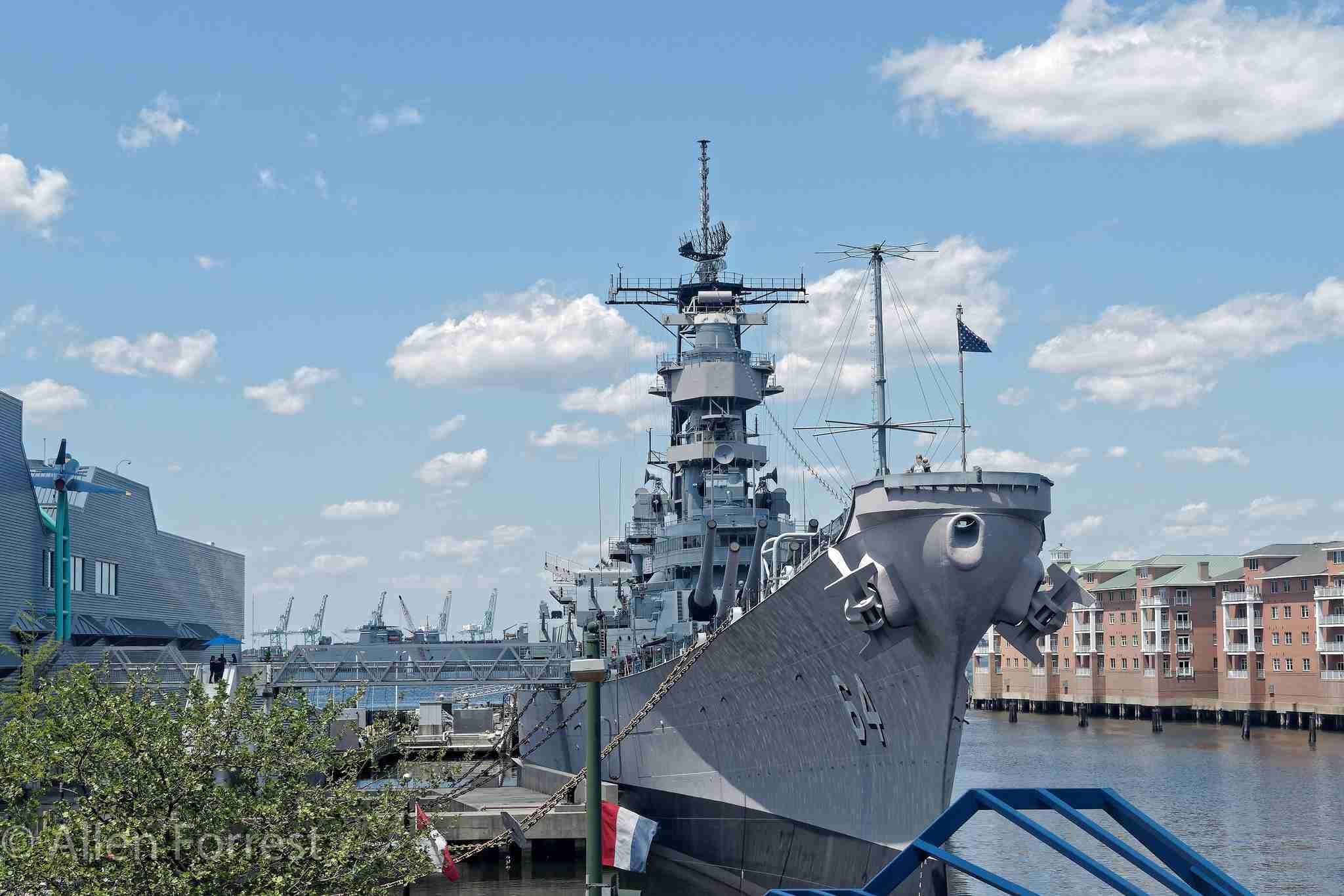 Battleship USS Wisconsin at Nauticus