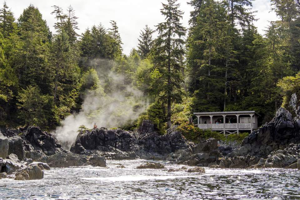 Hot Springs Cove, Tofino BC