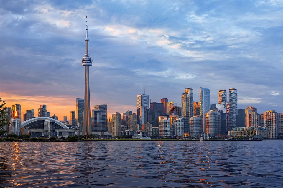 Toronto Skyline at Sunset, Canadá