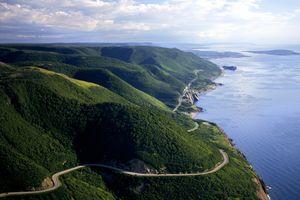 Cabot Trail/Cap Rouge, Presquile, Nova Scotia, Canada
