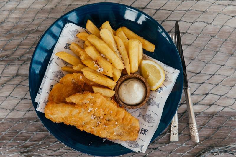 Fish and chips from Sweetlips