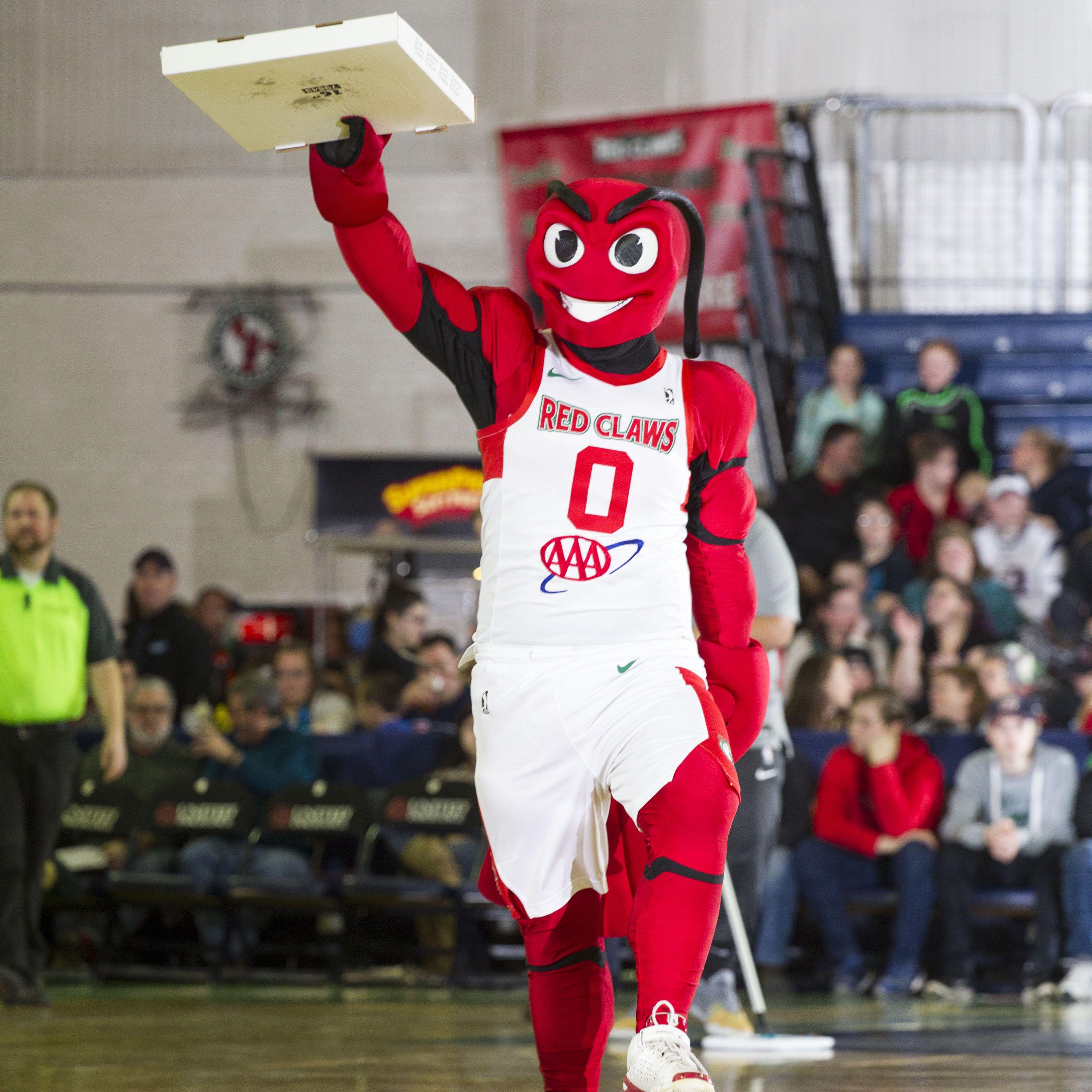 Mascota de Maine Red Claws