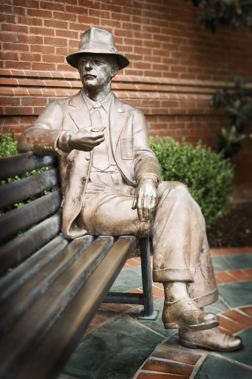 William Faulkner Statue