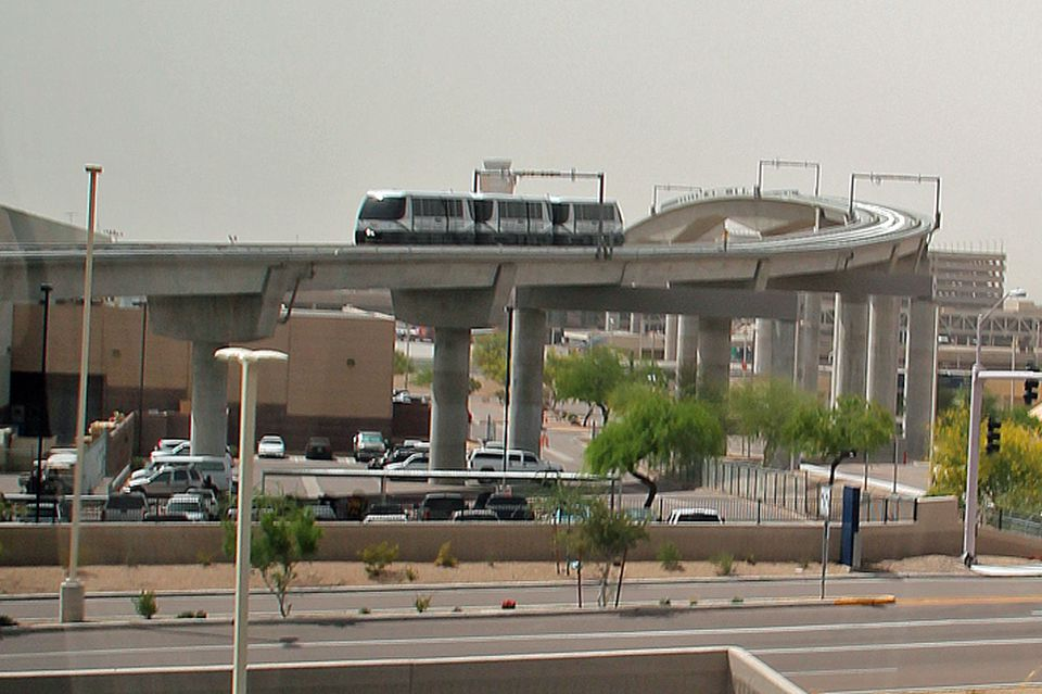 PHX Sky Train at Phoenix Sky Harbor International Airport
