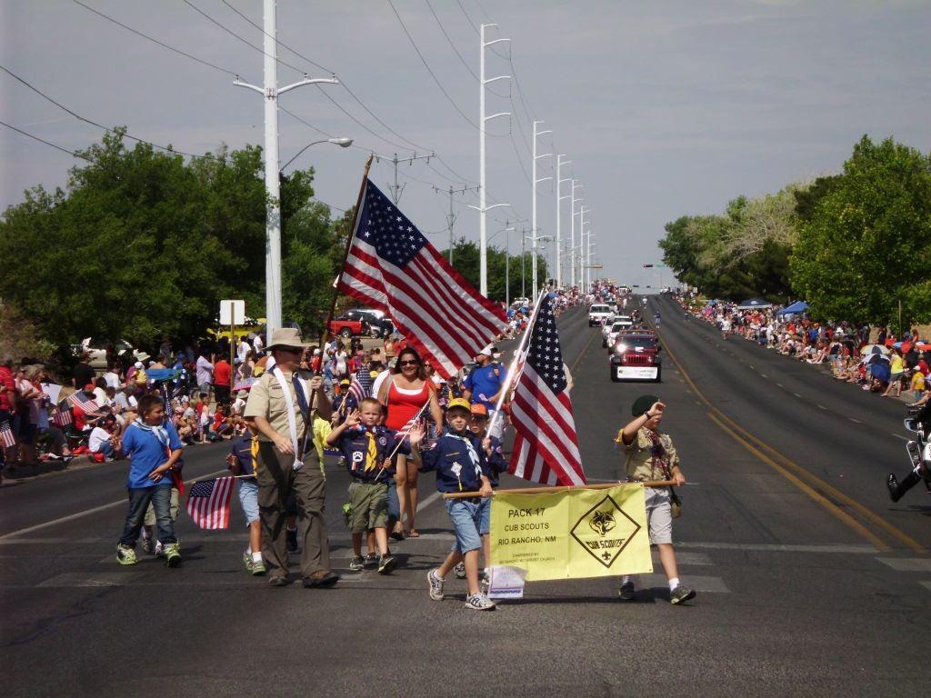 Memorial Day March in Rio Rancho