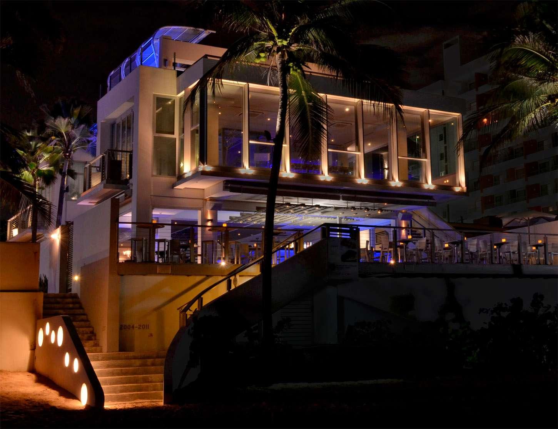 Oceano restaurant, Condado, Puerto Rico