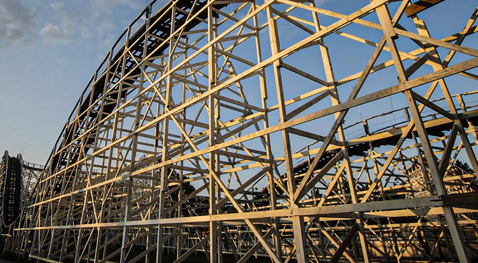 Racer coaster Kings Island
