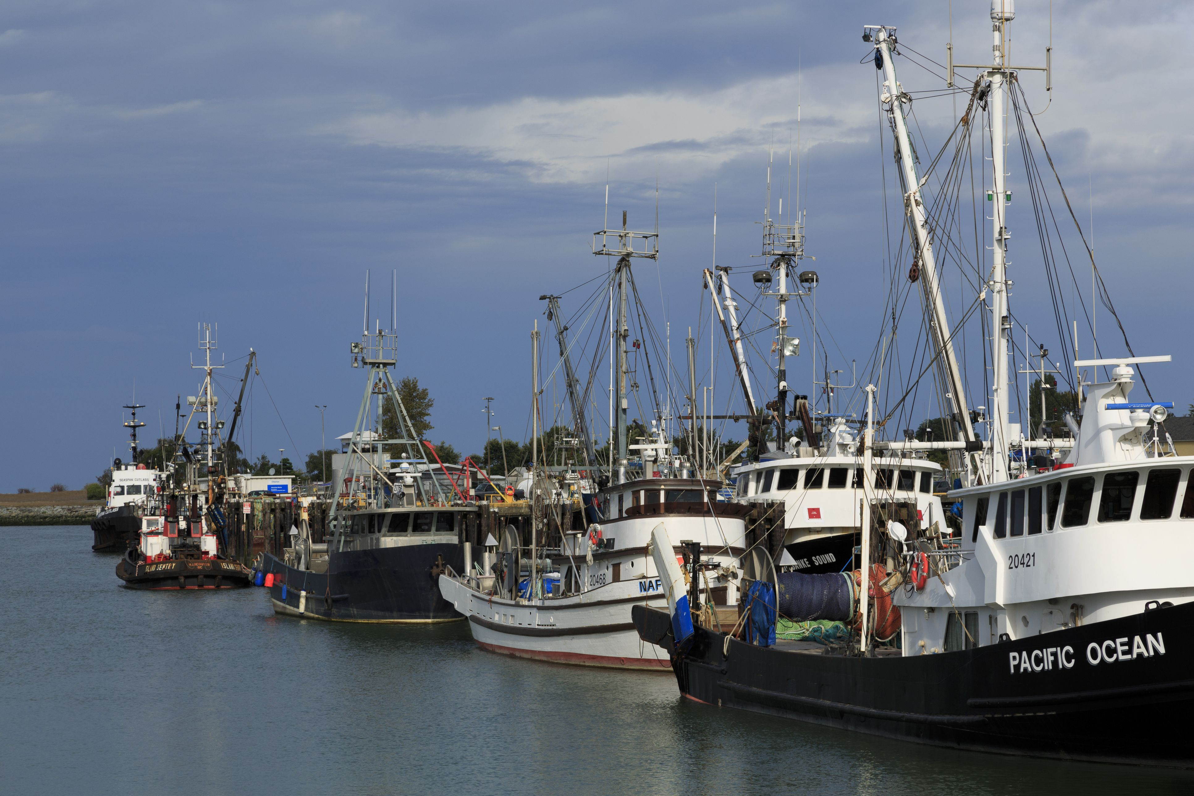 Steveston Fishing Village, Vancouver, British Columbia, Canada