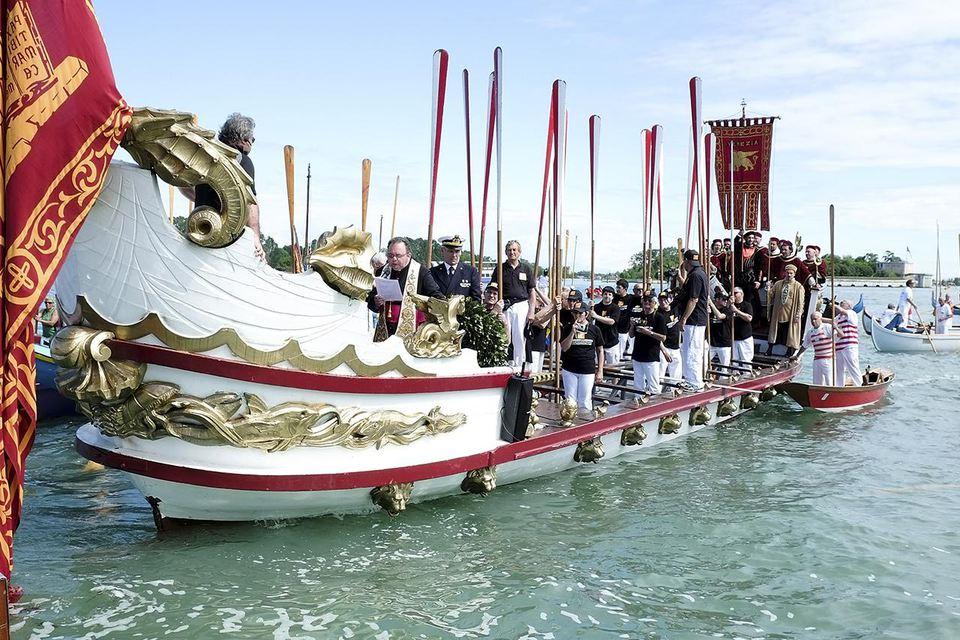 Festa Della Sensa In Venice