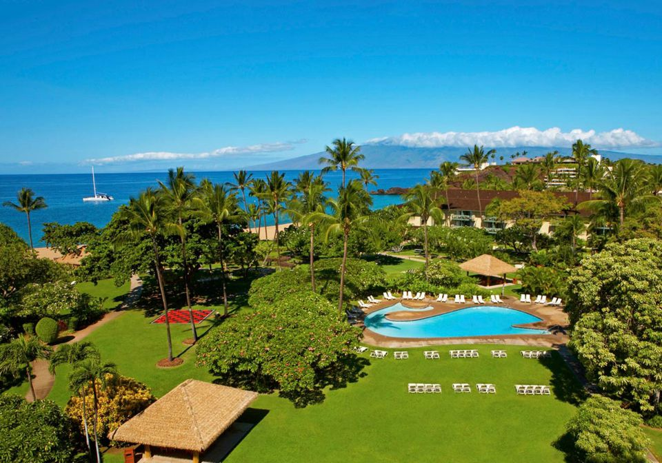kaanapali beach hotel and maui resorts with kids