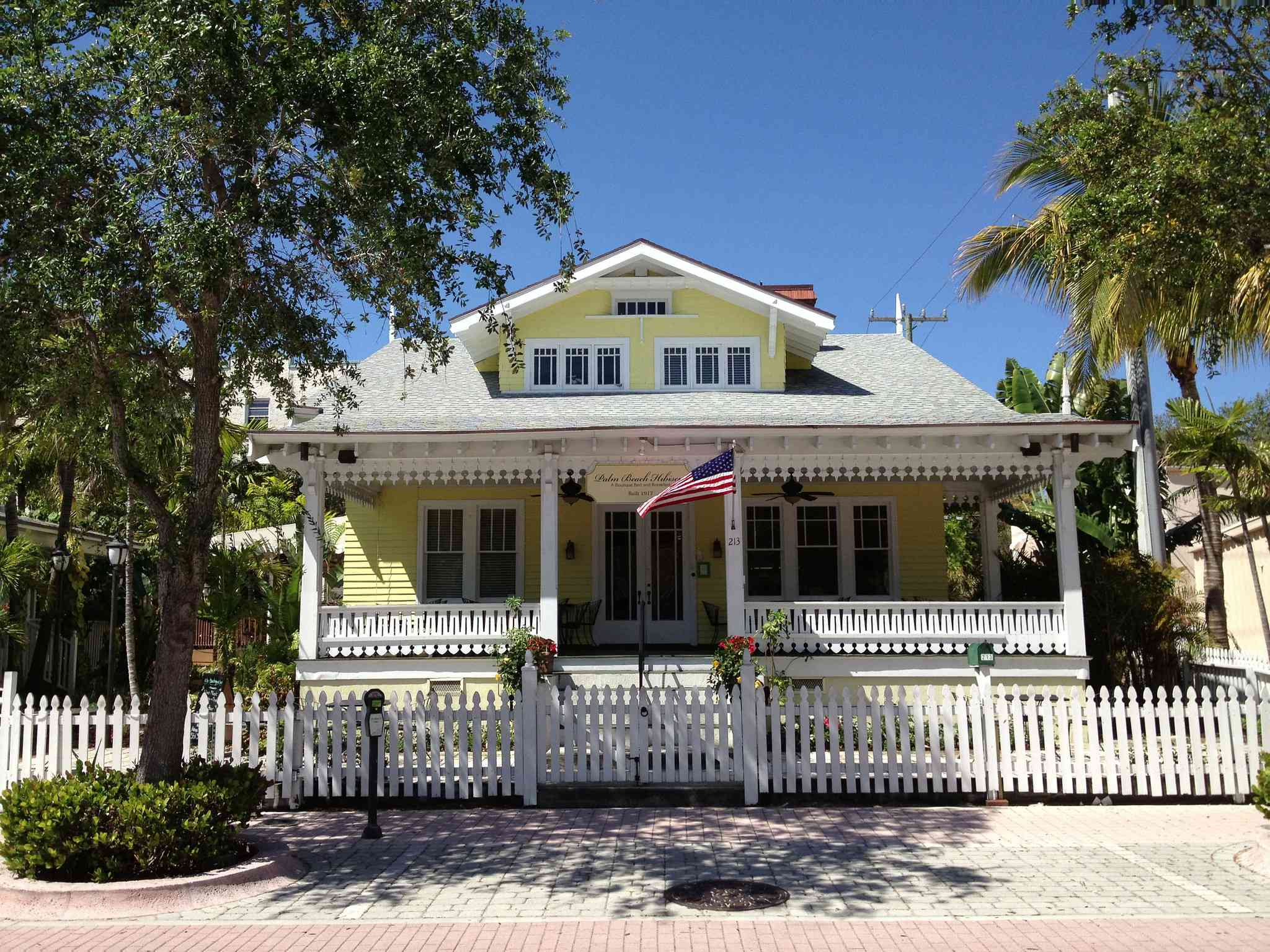 Exterior of Hibiscus Bed and Breakfast