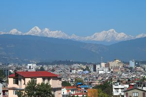 Kathmandu and the Himalaya