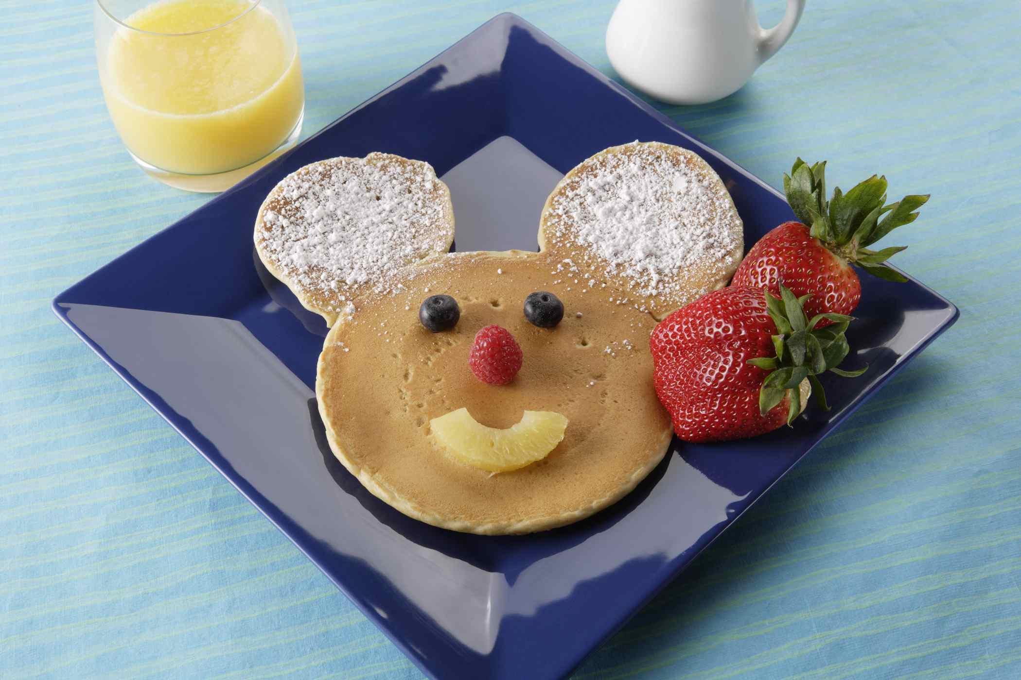 Mickey Mouse Pancakes at Disneyland