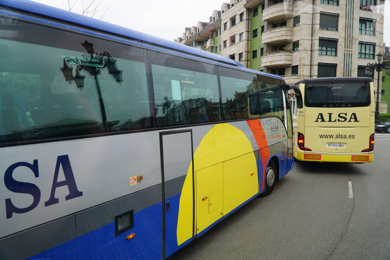 ALSA buses in Spain