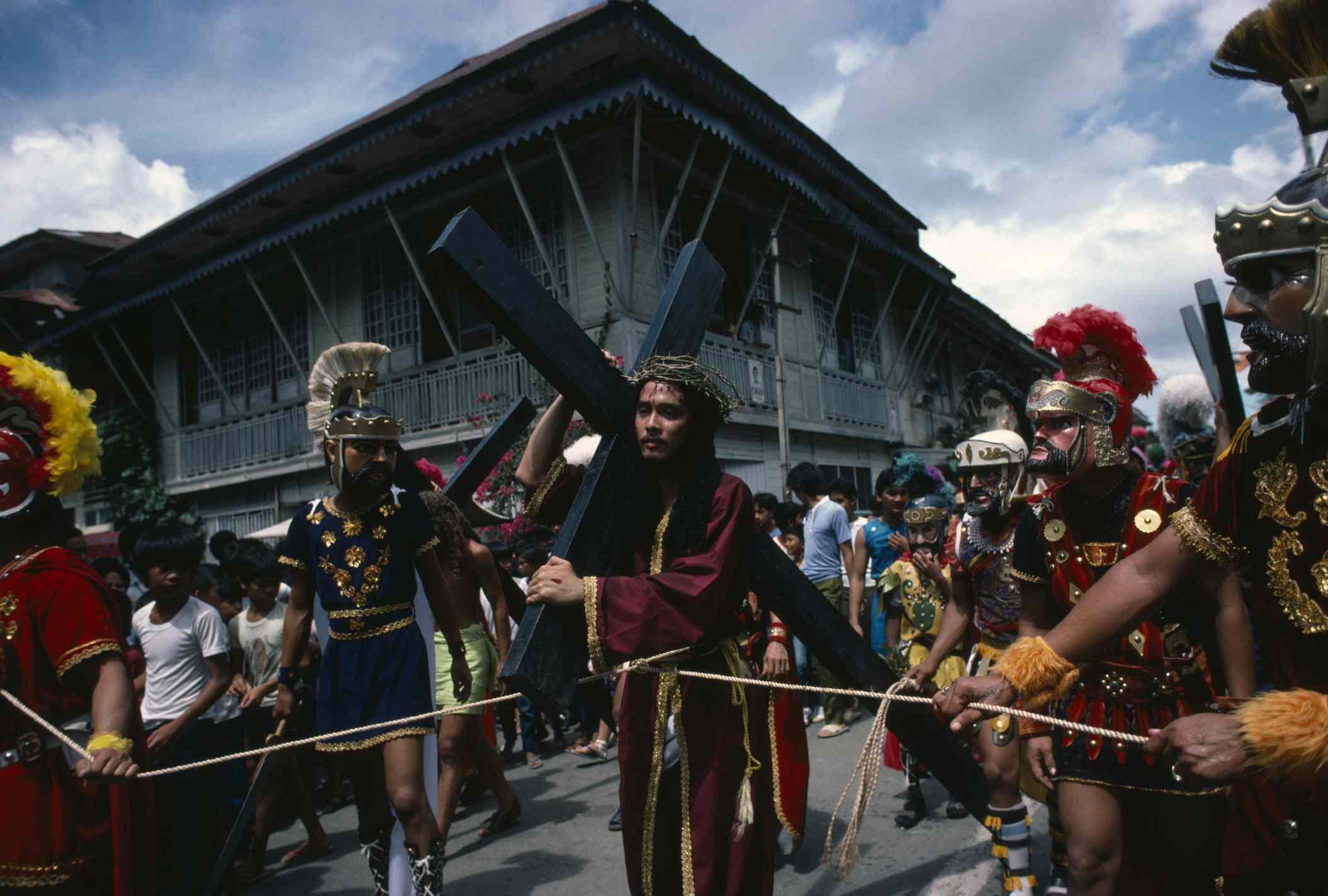 Moriones Festival parade, Philippines