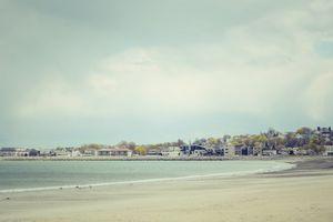 Revere Beach in Boston, Massachusetts