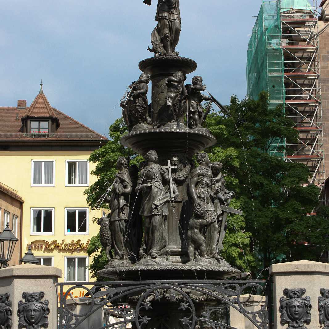 Tugendbrunnen Nuremberg