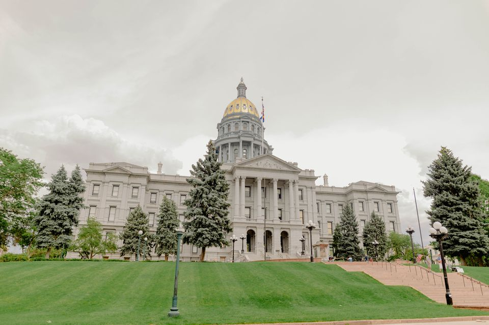 Colorado State Capitol Building in Capitol Hill, Denver