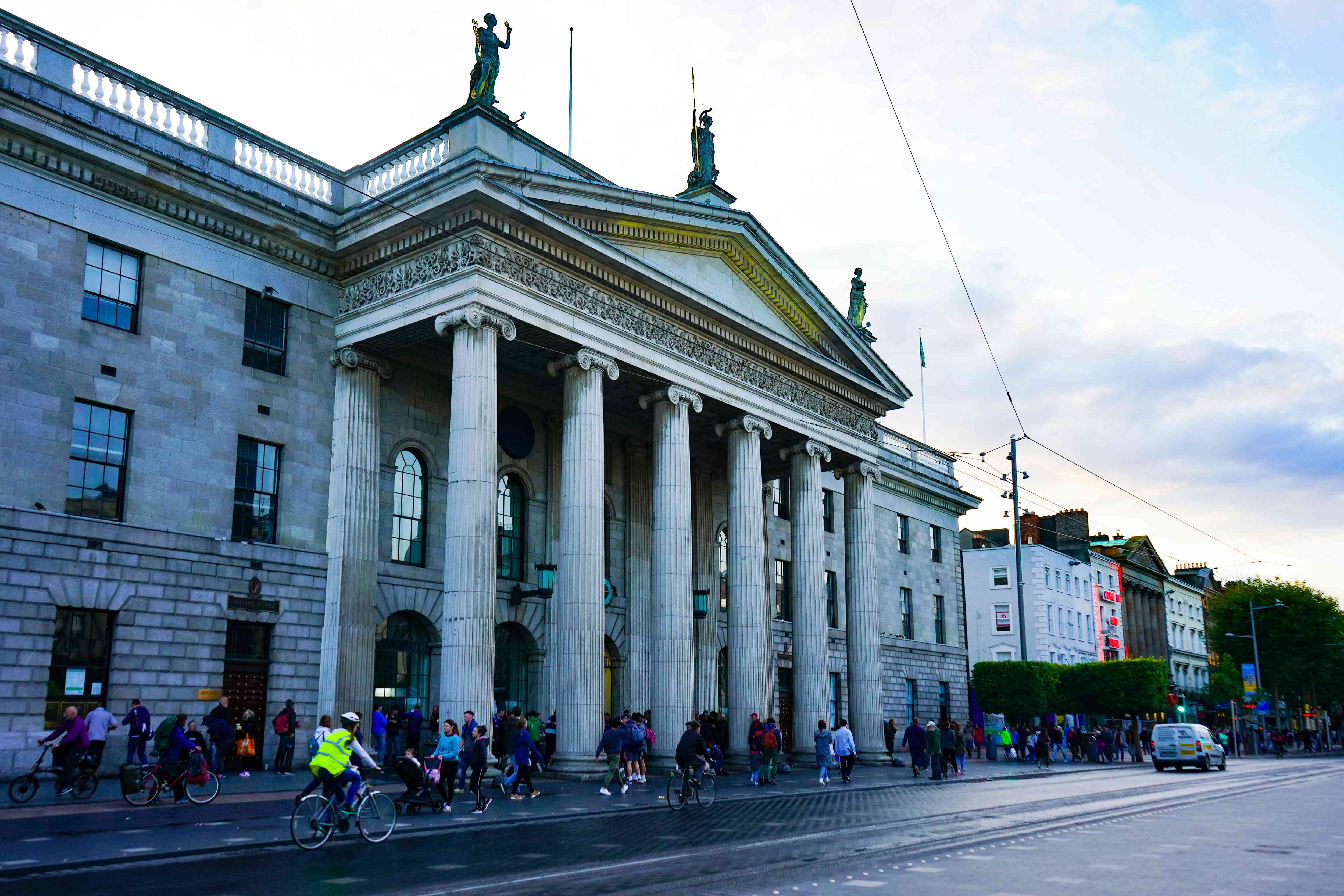 General Post Office in Dublin, Ireland