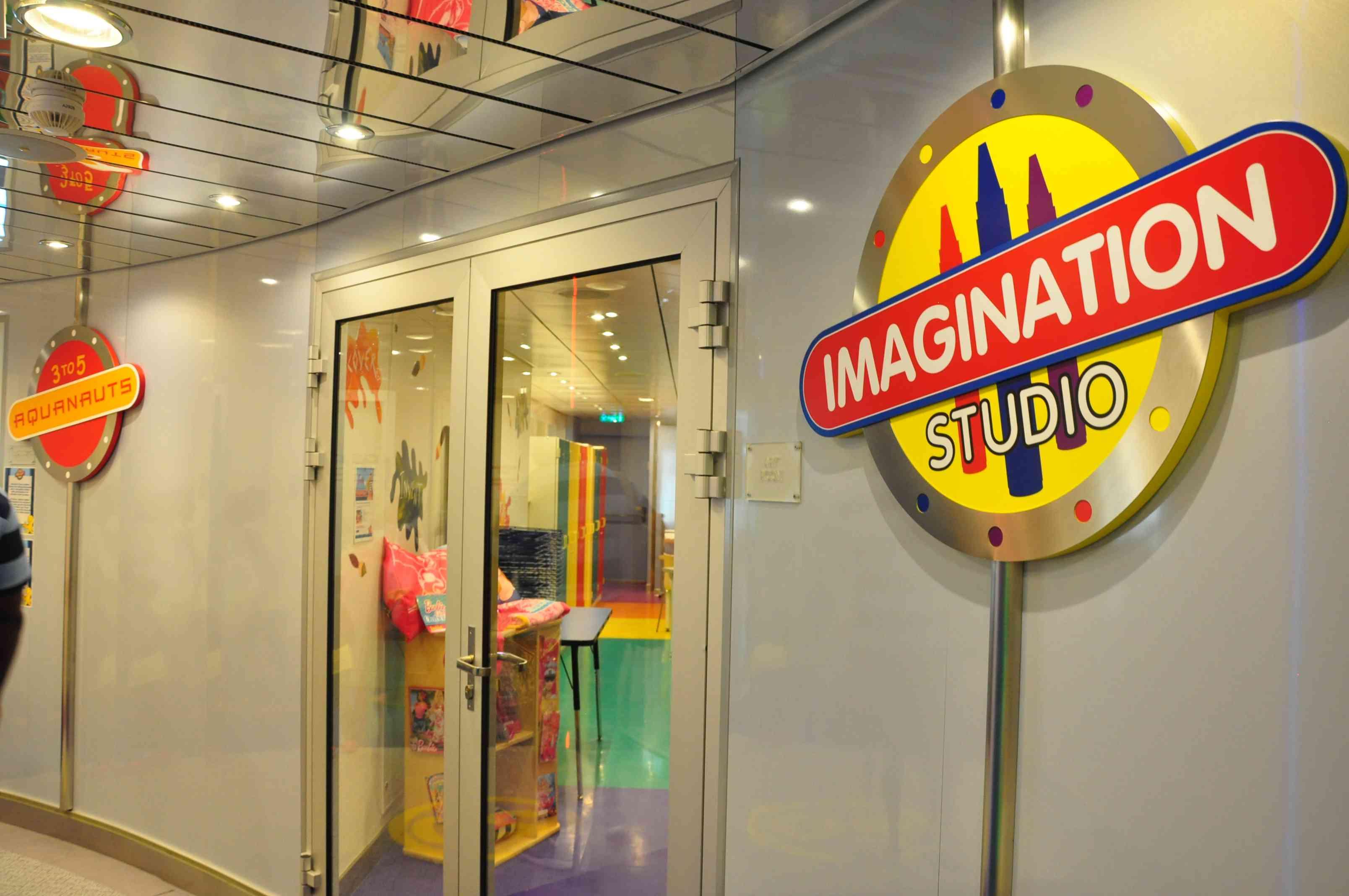 Oasis of the Seas imagination studio
