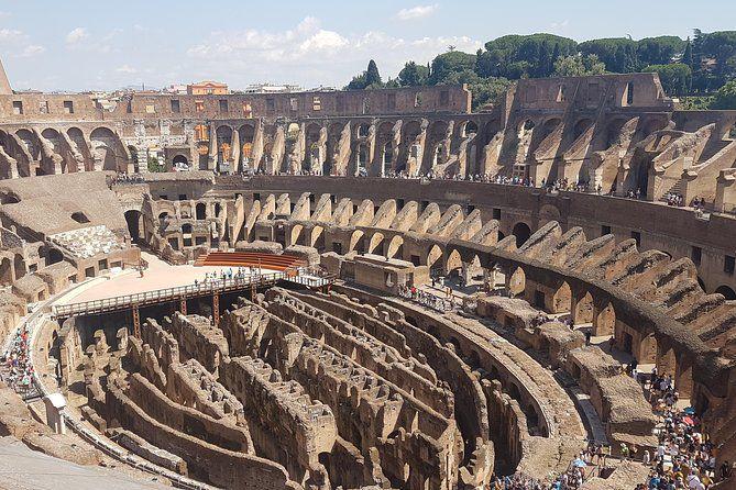 Recorrido privado sin colas por el Coliseo y la Antigua Roma