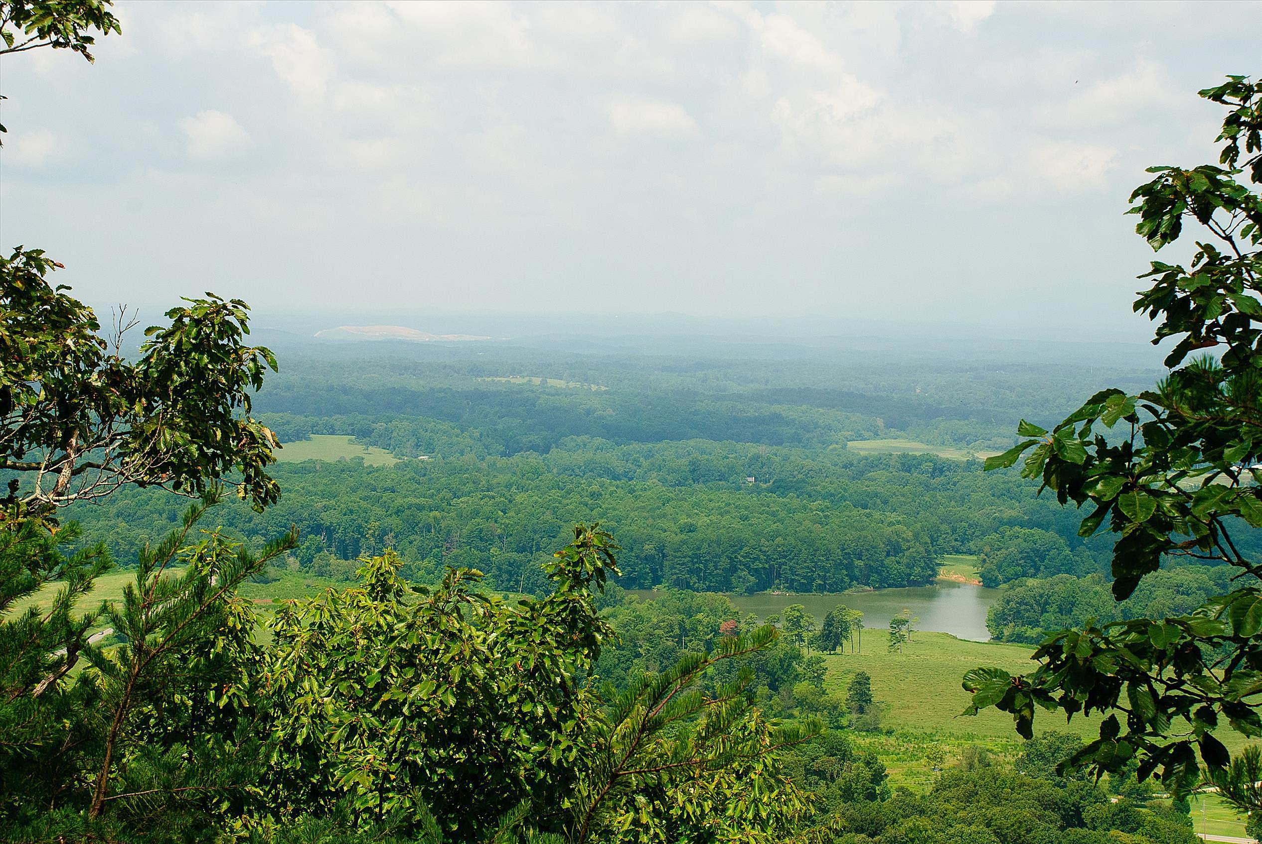 Indian Seats Trail at Sawnee Mountain Preserve