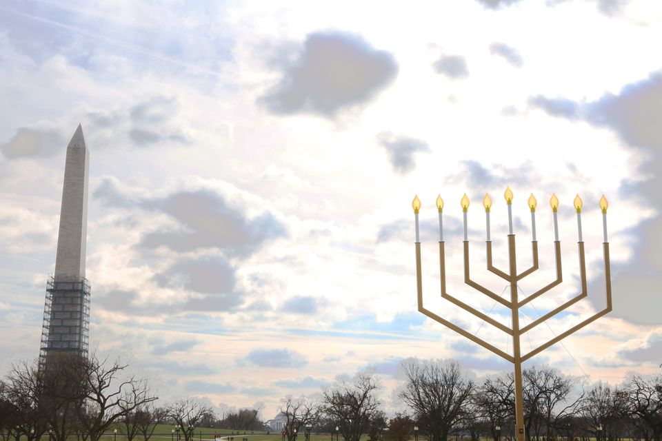 Menorah on the Mall in Washington, D.C