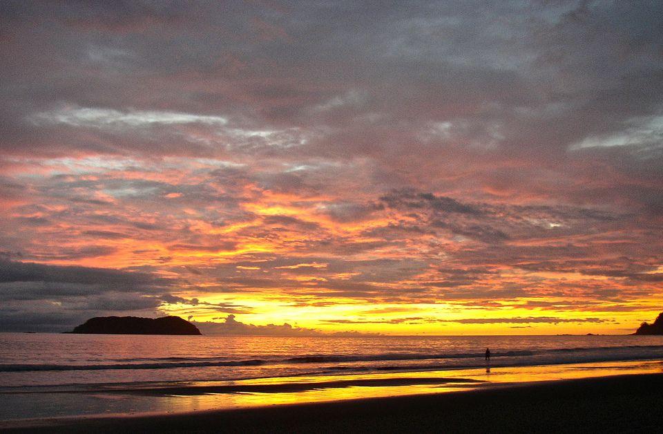 Sunset Over Manuel Antonio, Costa Rica