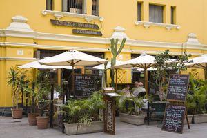 Los Escribanos Restaurant on Plaza Mayor (Plaza De Armas) Lima Centro District
